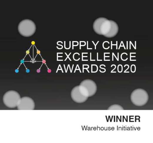 Supply chain excellence awards logo.