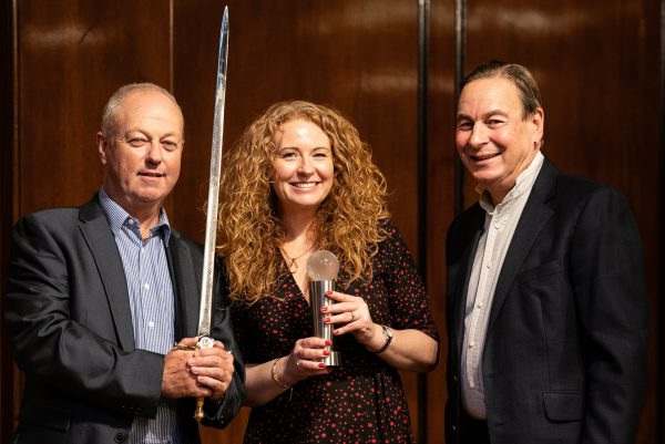 Unipart Logistics collected their Sword of Honour and Globe of Honour 2019