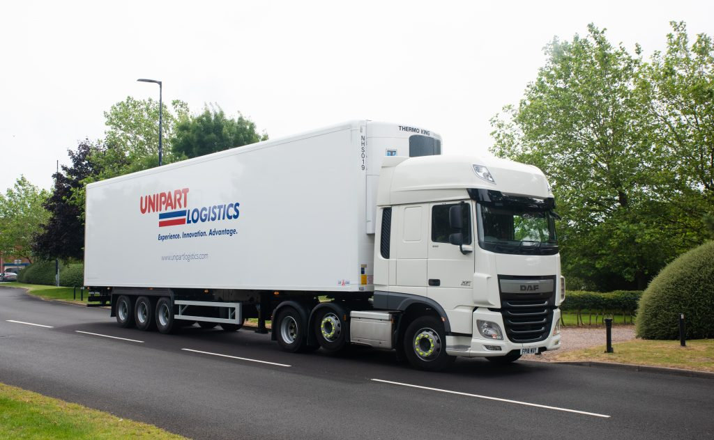 Unipart vehicle for global freight