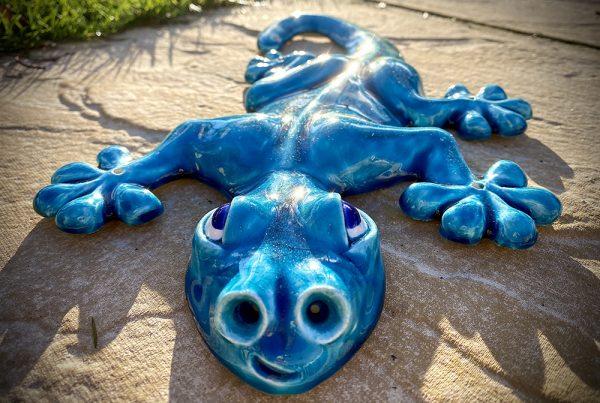 Ceramic Lizard