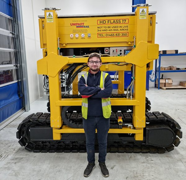 National Apprenticeship Week marked by Leo in Unipart Manufacturing