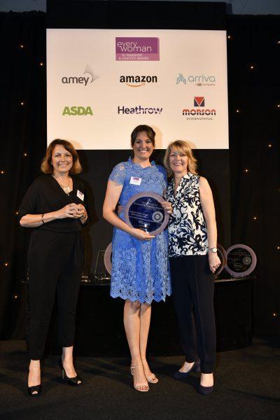 Kelly Pepper everywoman award