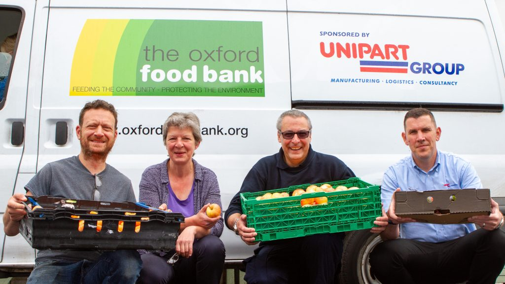 Unipart sponsors Oxford Food Bank