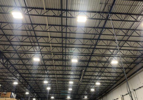 Sustainable lighting in the Unipart Logistics site in Atlanta, Georgia