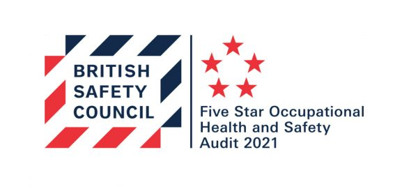 British Safety Council 2021 occupational health and safety audit logo