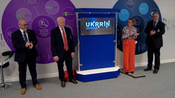 Neil McNicholas and John Neill at the UKRRIN launch