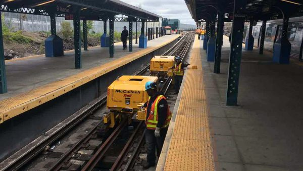 TRT in action on railway lines